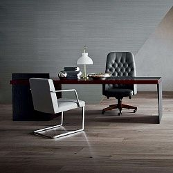 Письменный стол Poltrona Frau H_O Executive Desk Lac