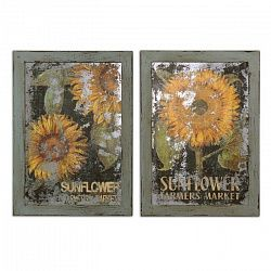 Картина (комплект из 2-х шт) Sunflower Farmers Market UT55003